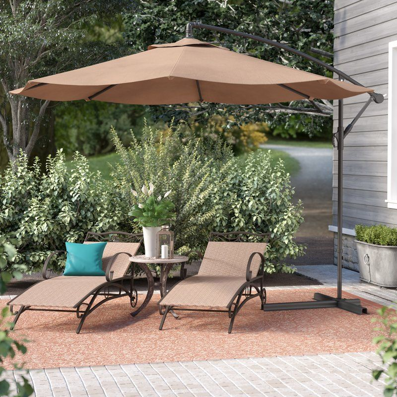 Bormann 10 Cantilever Umbrella Outdoor Patio Umbrellas Patio Offset Patio Umbrella