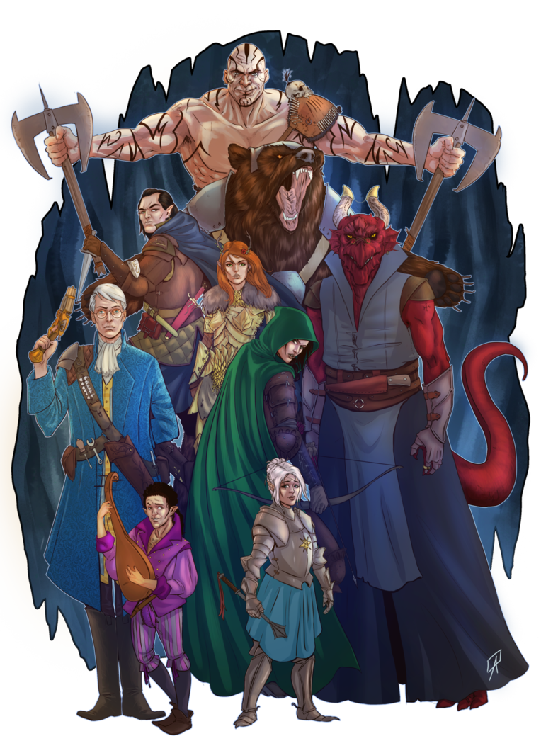 Vox Machina By Ninjamastertk Critical Role Critical Role Fan Art Critical Role Critical Role Characters As of june 2018 critical role is an independent studio that streams on its own twitch channel and youtube. critical role fan art critical role