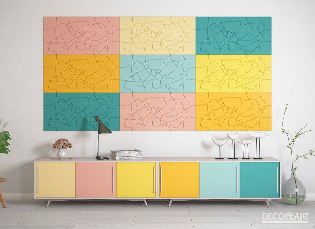 3D Wall Panels Laces | New: discover our 3D Wall Panels © Decoflair ...