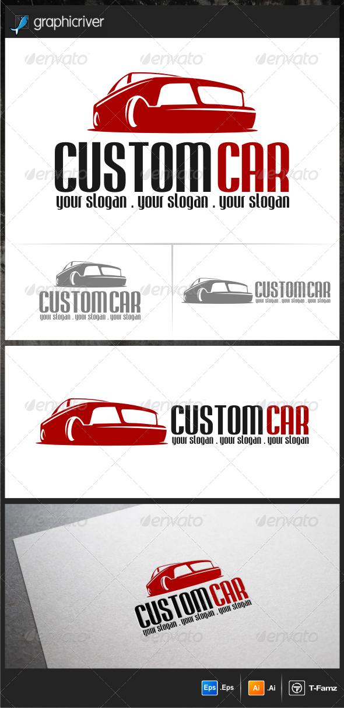 Custom Car Logo Templates   Vector, Disenos de unas, Autos