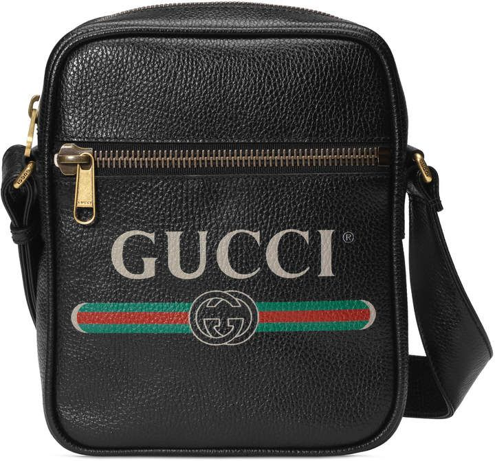 10abefd577f9b4 Print messenger bag | bag lady | Pinterest | Gucci messenger bags ...
