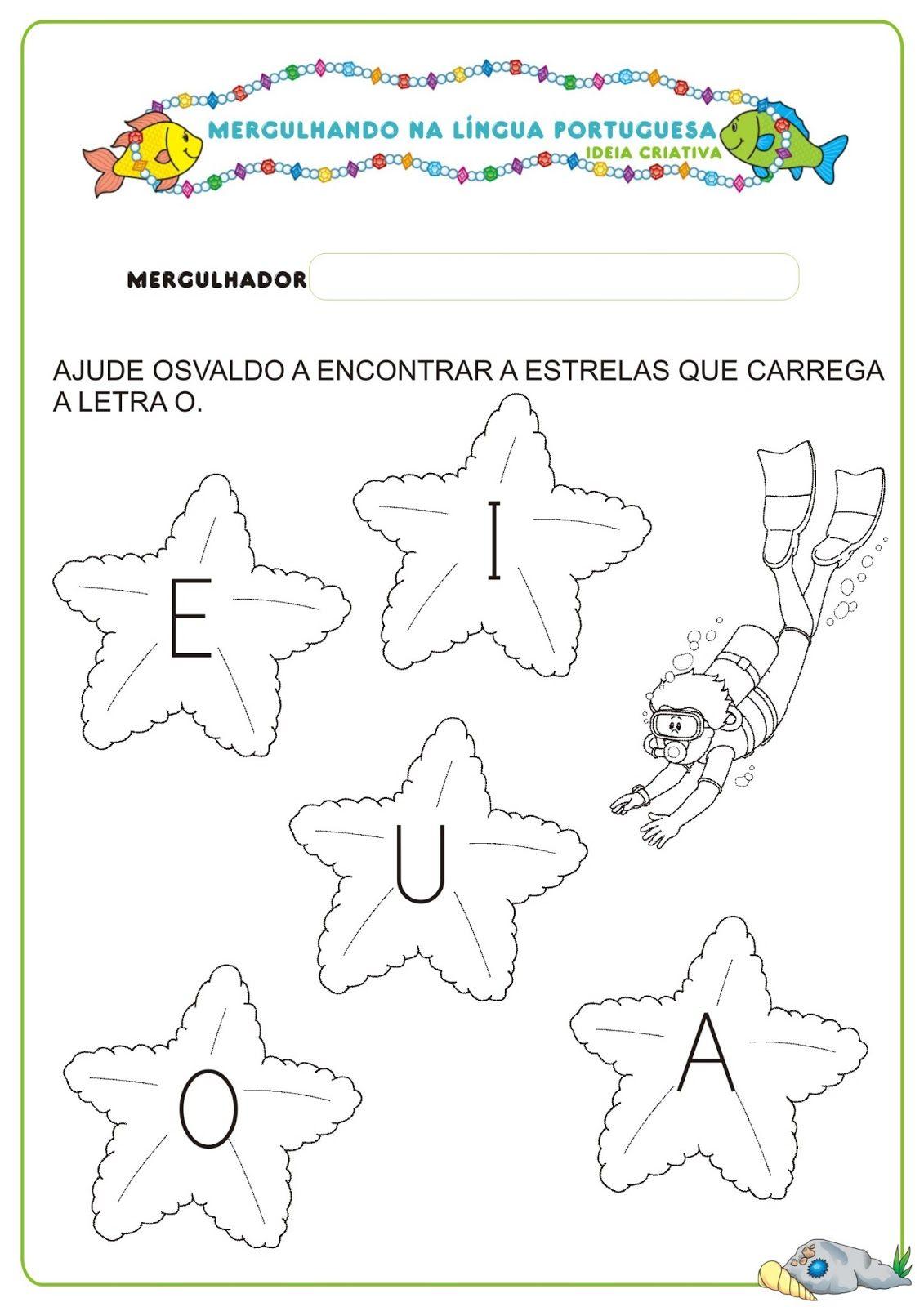 Caderno De Atividades Lingua Portuguesa Projeto No Fundo