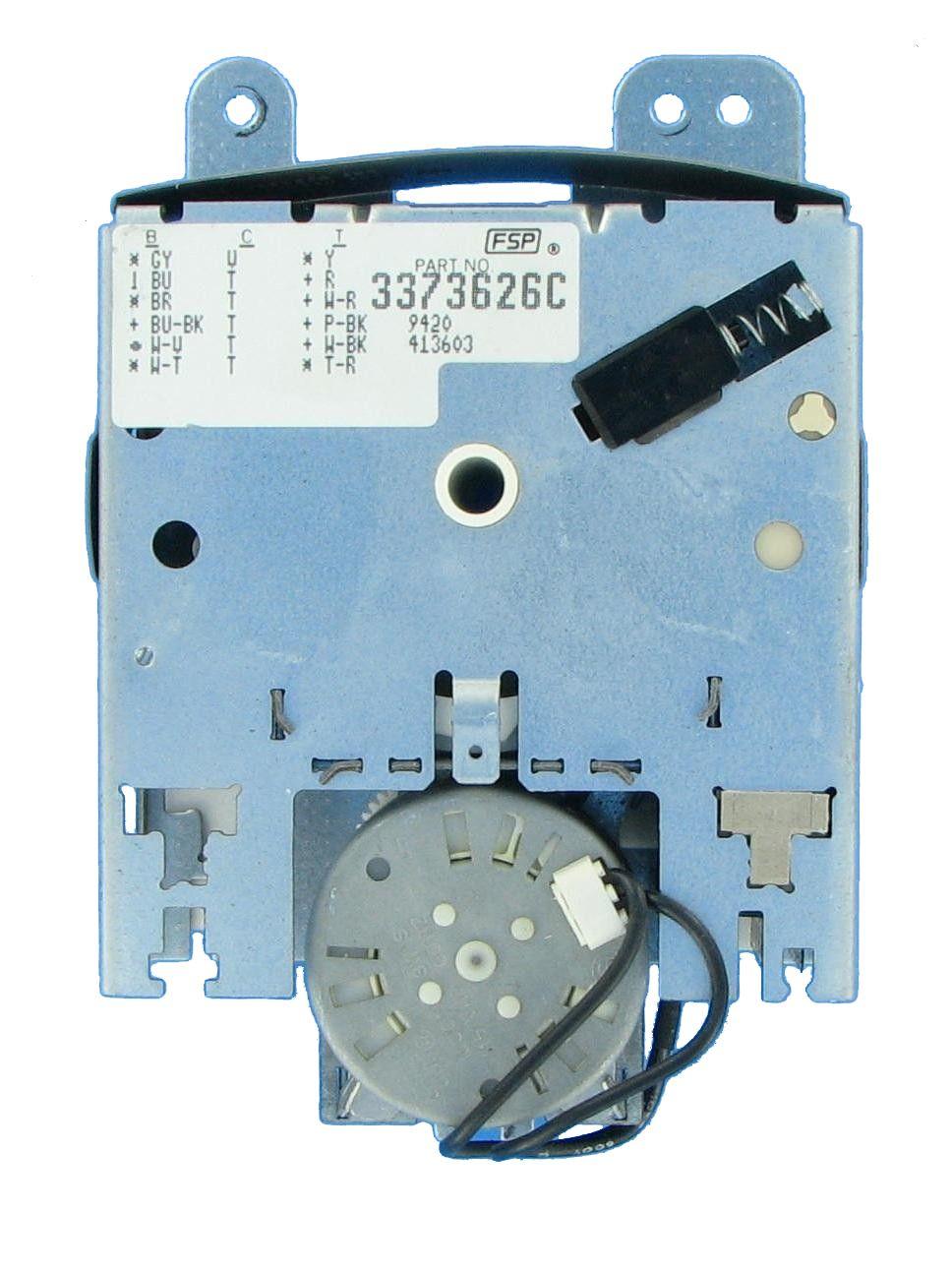 Whirlpool  3373626r Dishwasher Timer Control Board