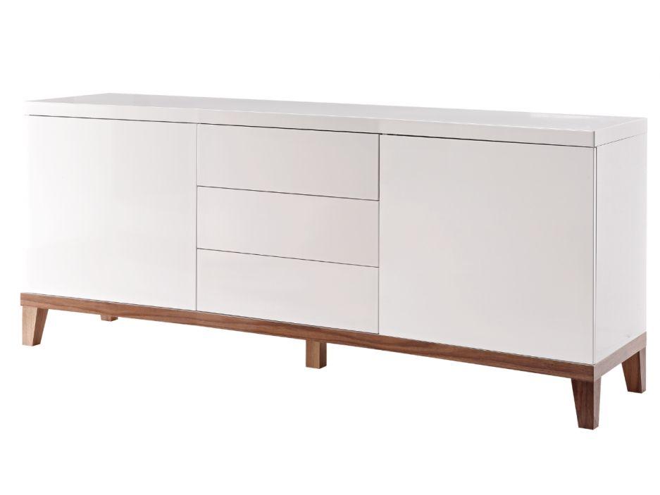 Buffet Ikea Blanc Laqu Trendy Blanc Laqu Ikea U Chaios