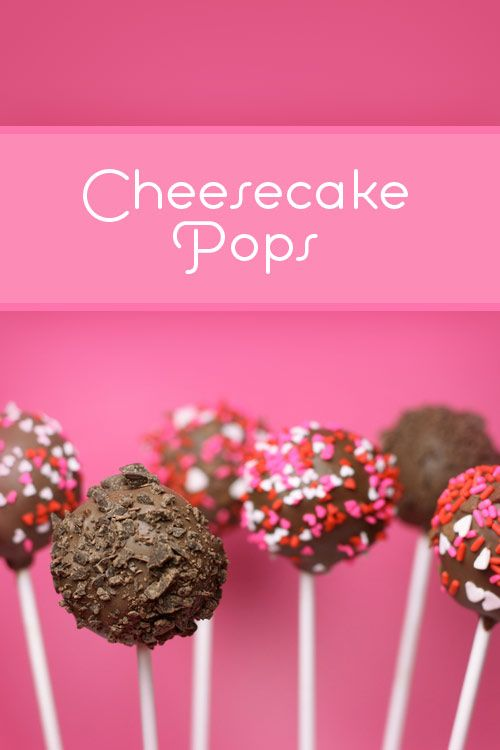 Cheesecake Pops!