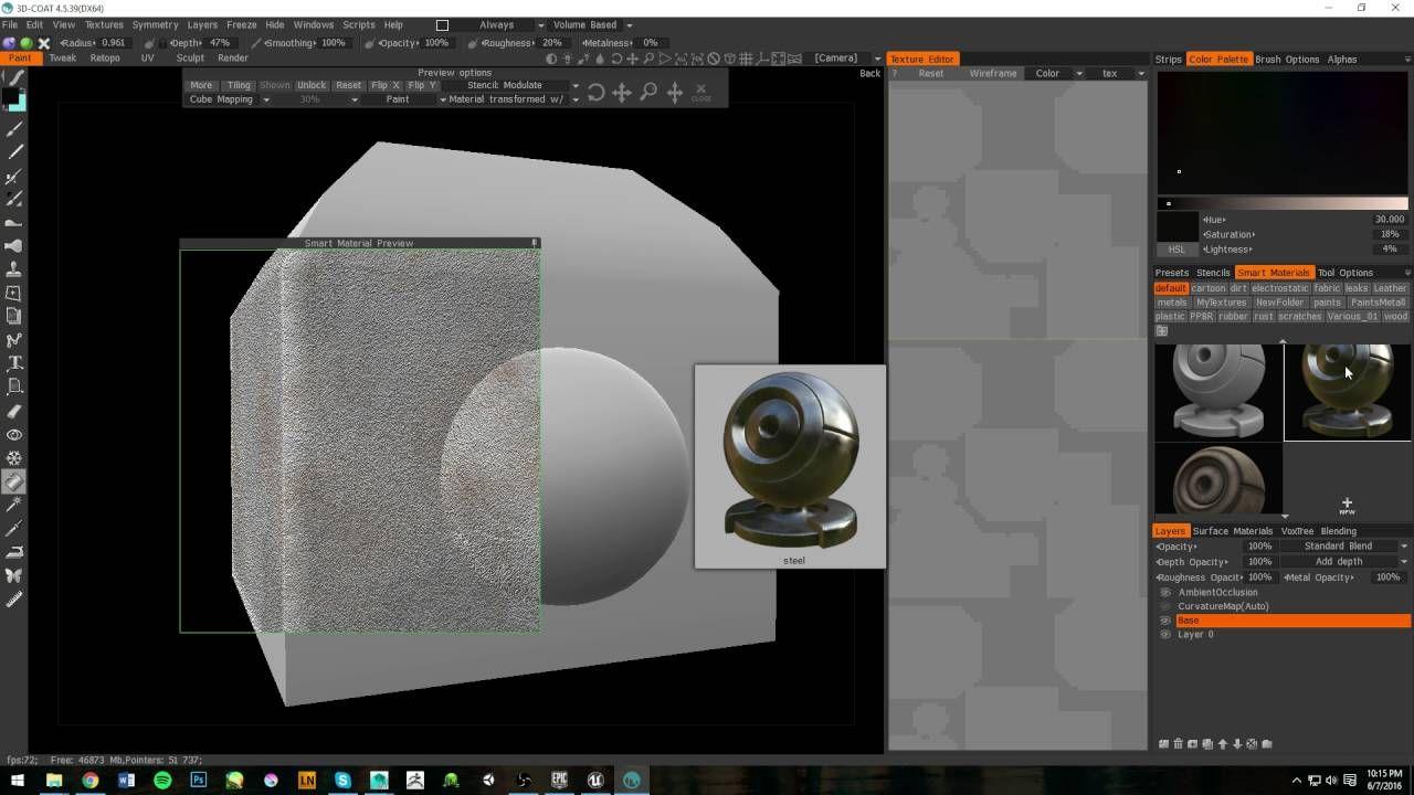 PBR Workflow Tutorial (Maya/3D Coat/Unreal Engine) | Neat