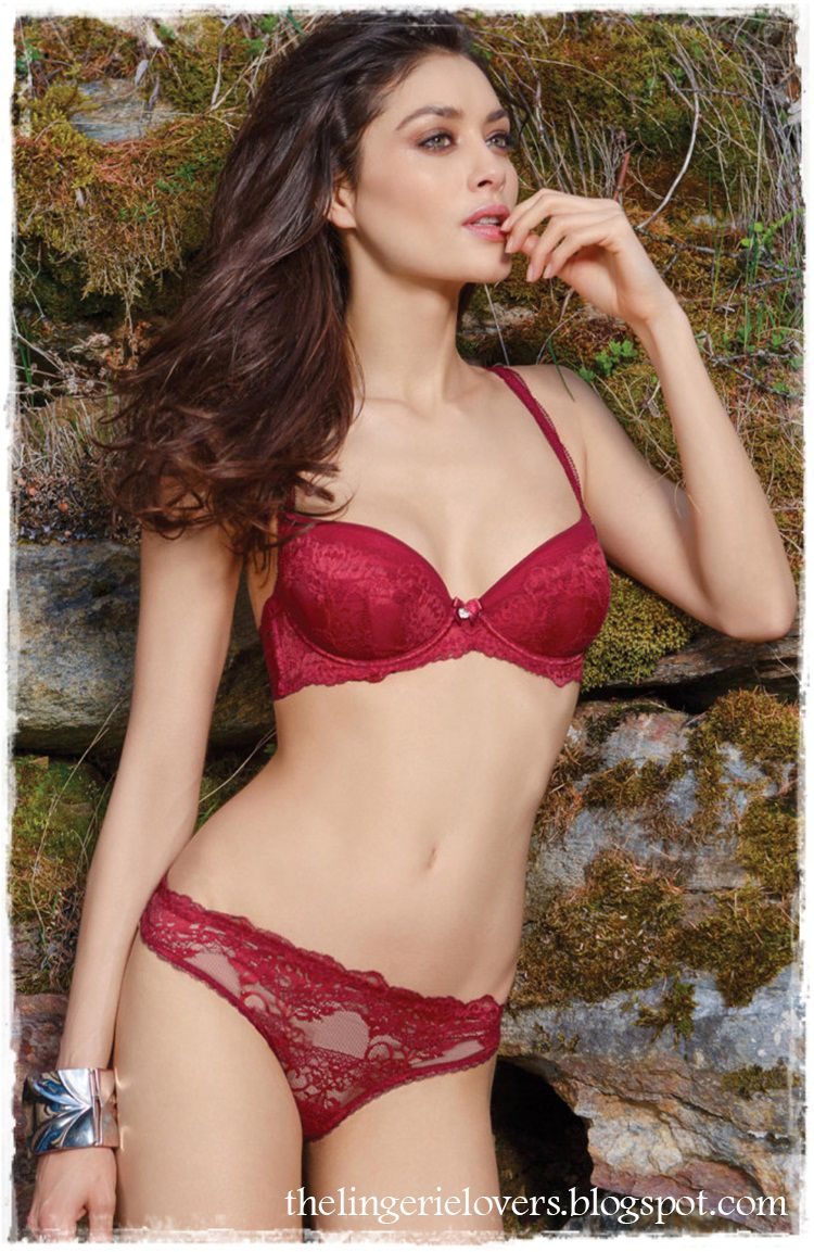 The Lingerie Lovers Florence Eugene Looks So Beautiful With Incanto Lingerie 1
