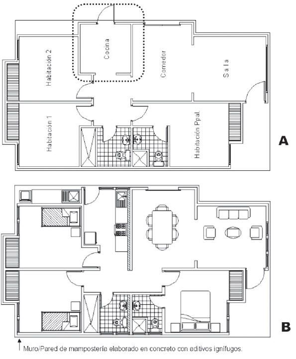 Planos de casas bifamiliares 595 721 planos de for Casa moderna autocad