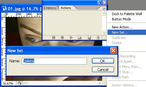 Editar múltiples imágenes de forma automática en Photoshop
