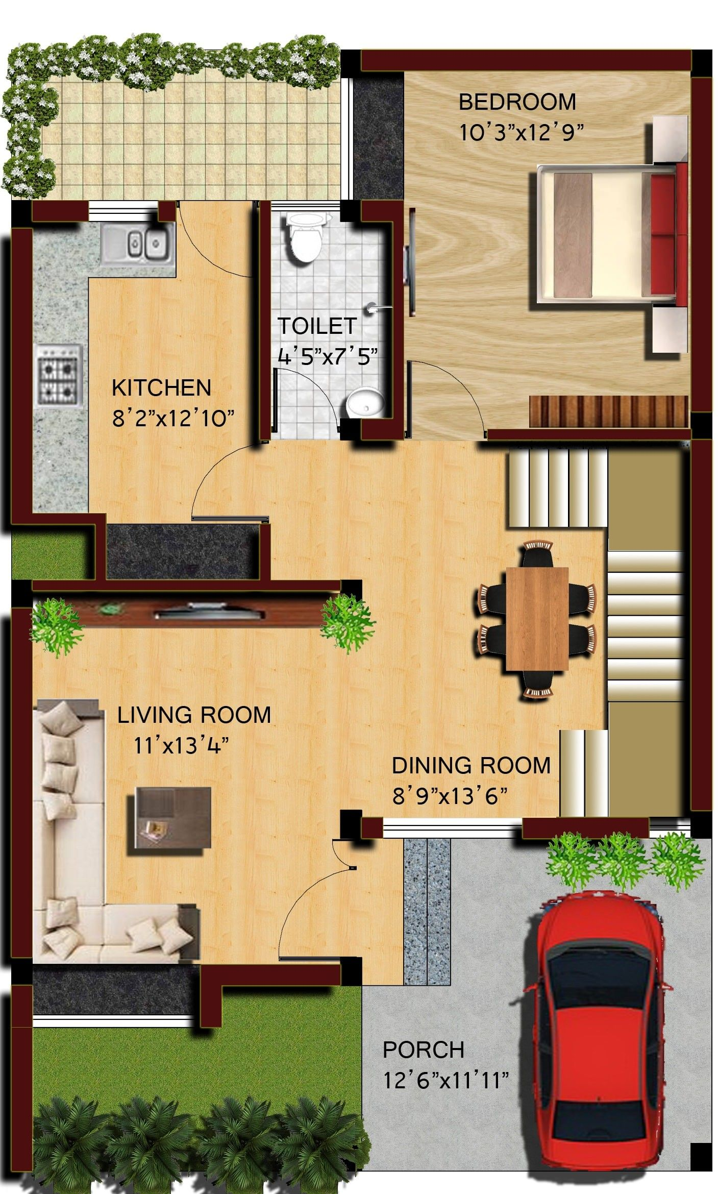 Extraordinary 25x40 House Plan Images Best Inspiration Home Design New House Plans 20x40 House Plans House Plans