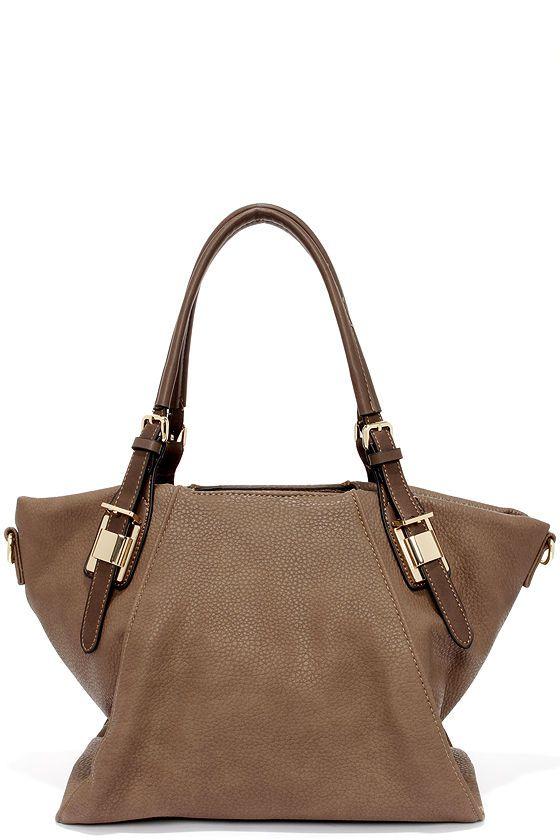 099a785fdc36 Elite Street Taupe Handbag at Lulus.com! Denim Handbags
