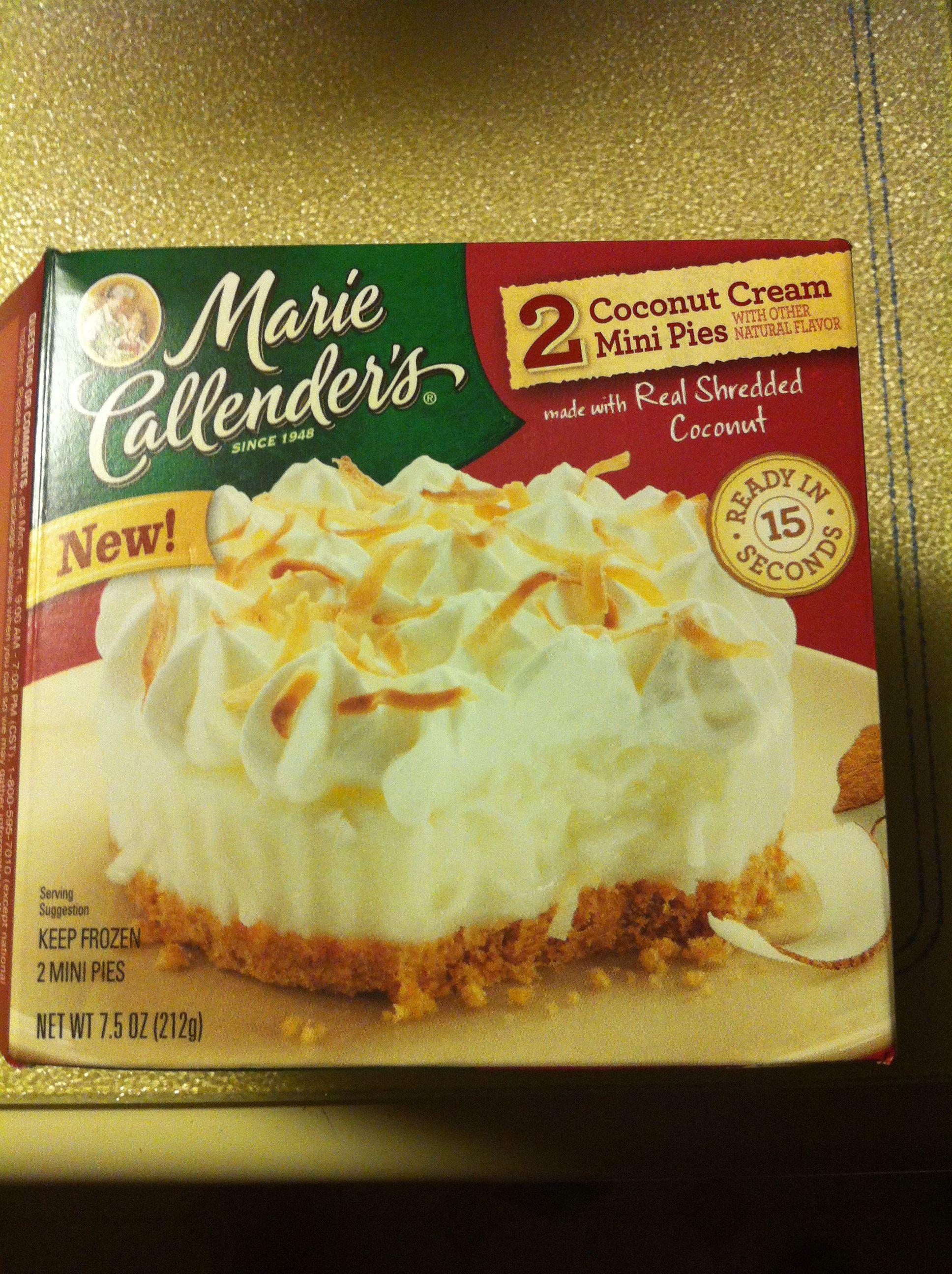 marie callender s coconut cream mini pies mini pies on wall street journal subscription id=29961