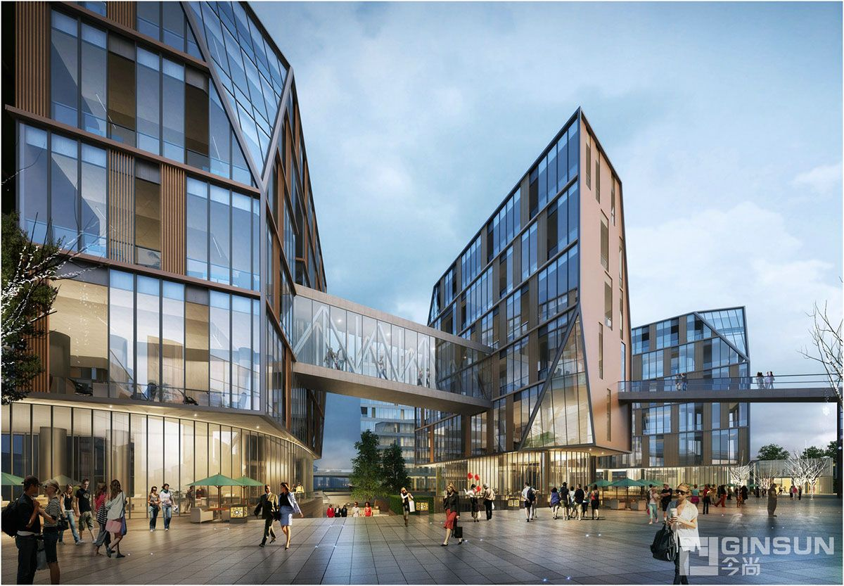 Office Building/Tongji Architect on Behance