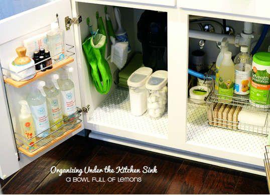 9 Handy Under Sink Organizers To Buy Or Diy Kitchen Sink Storage
