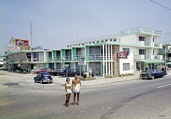 Amazing Photo Of The Rio Motel In Wildwood Circa 1960s Check Out