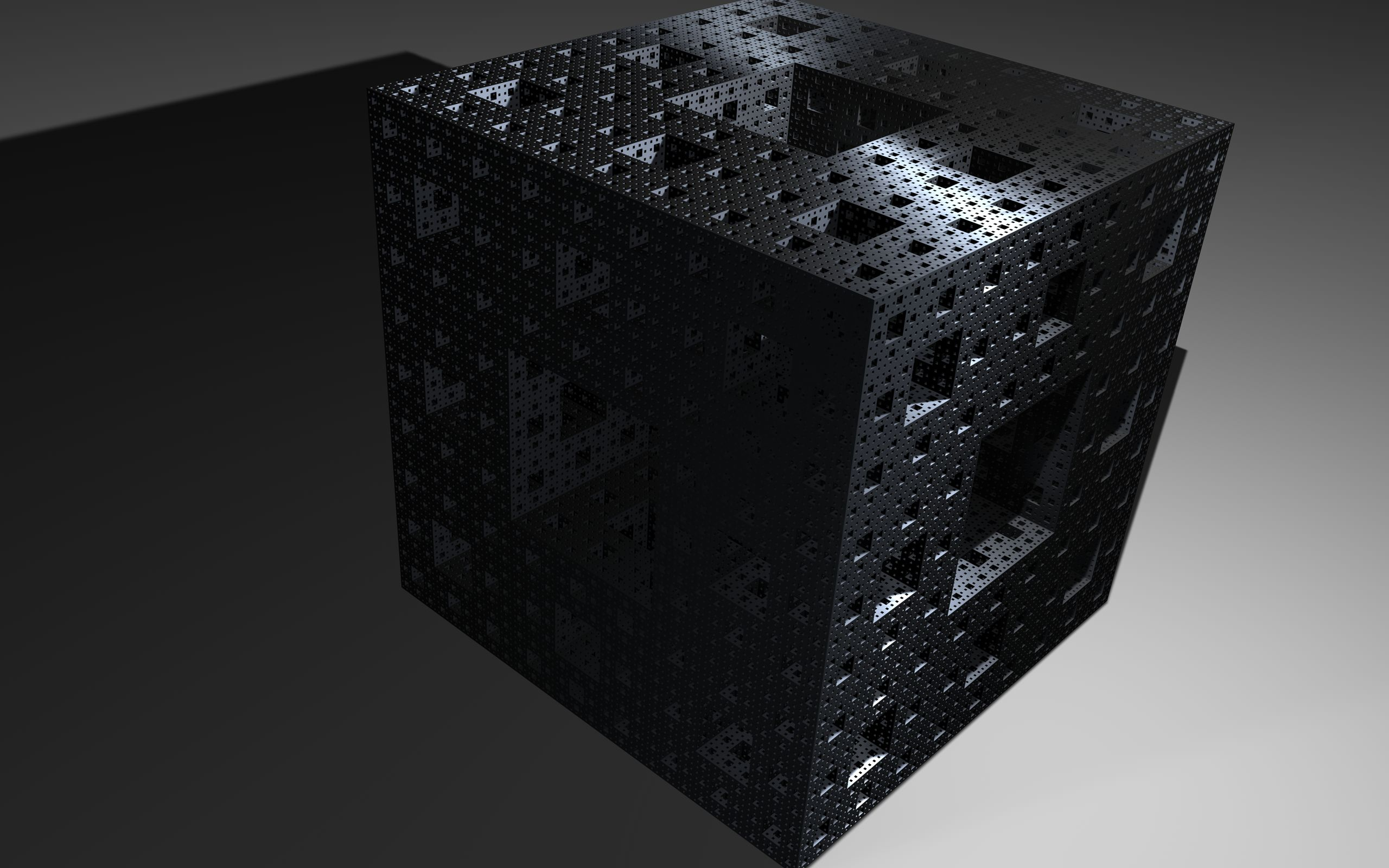 Black Cube Wallpaper