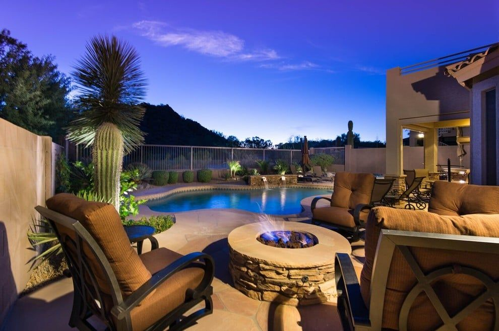 Photo Of California Pools Landscape Chandler Az United States California Pools Pool Landscaping Outdoor Furniture Sets