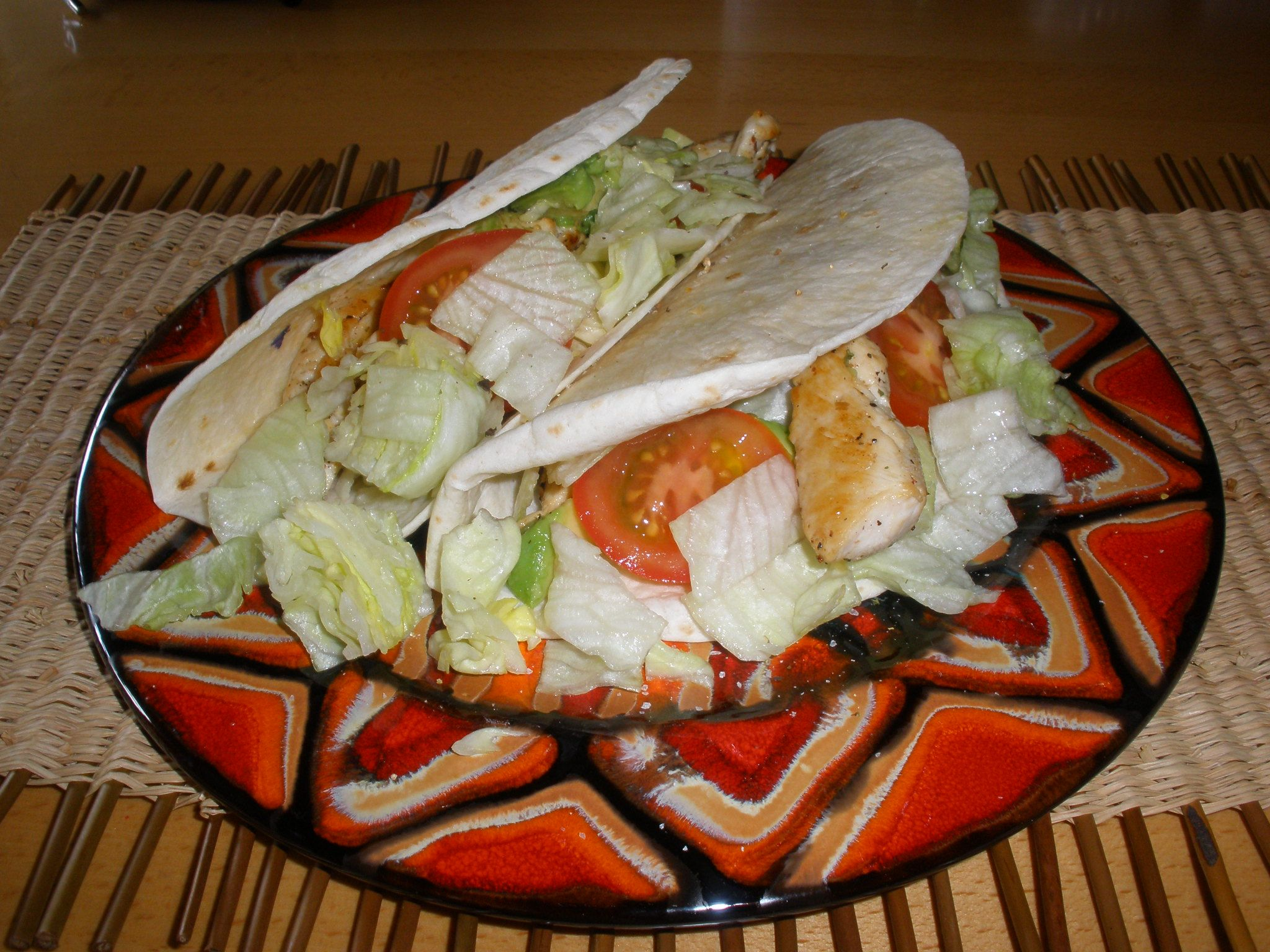 My mexican evening and delicious Chicken Fajita.