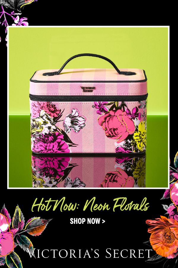 Fresh for spring makeup bags, travel cases & more from