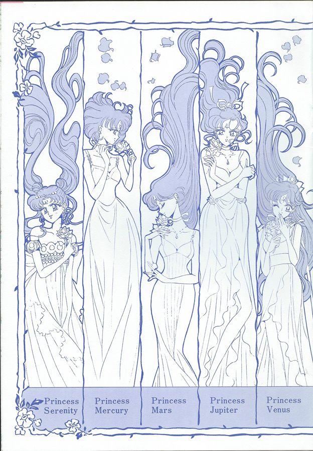 Princess senshi from \
