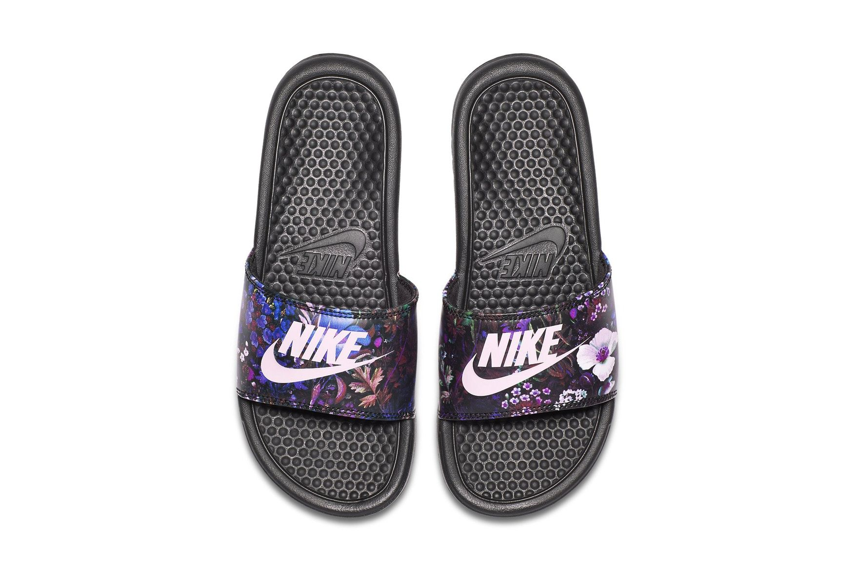 Nike's Benassi Slides Are Blooming With Florals