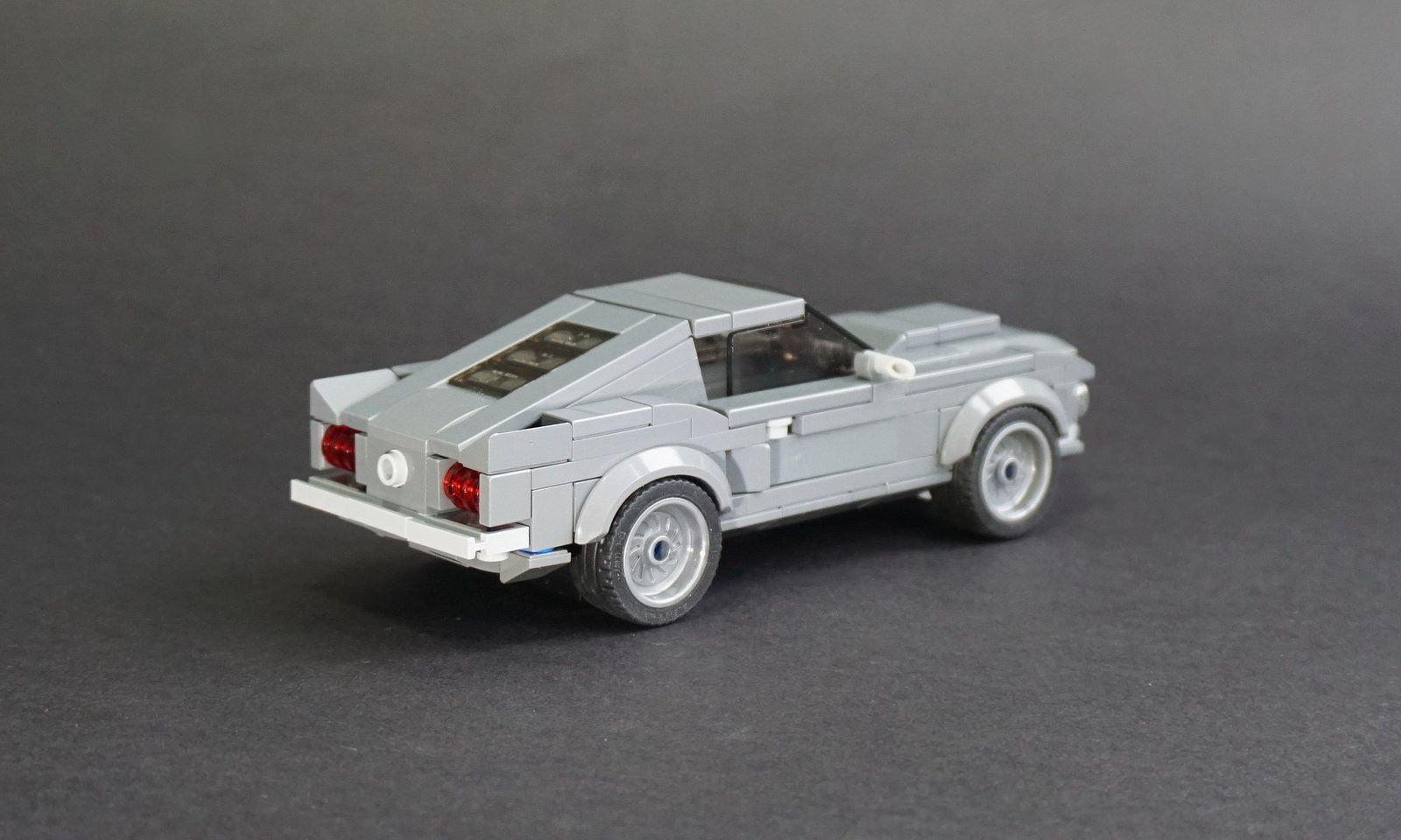 Lego 1968 ford mustang fastback 02 by jonathan ẹlliott