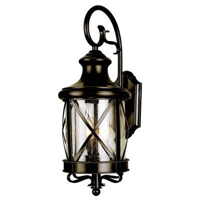 Superieur Allen + Roth 20 1/2 In Bronze Outdoor Wall Mounted Light