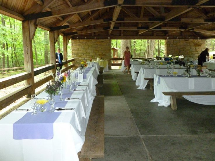 Brown County State Park Wedding Shelter