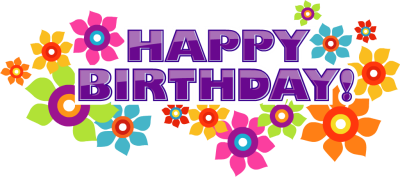 Happy Birthday Clip Art Clipart Free Clipart Microsoft Clipart 2 Image 7065 Happy Birthday Clip Art Happy Birthday Text Happy Birthday Flower