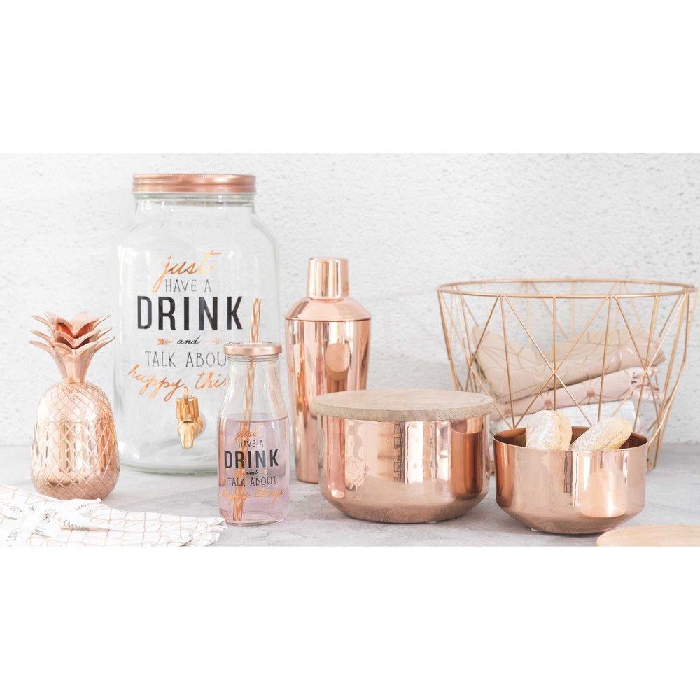 Ballonflasche Aus Glas Mit Zapfhahn H 30 Cm Happy Things Maisons