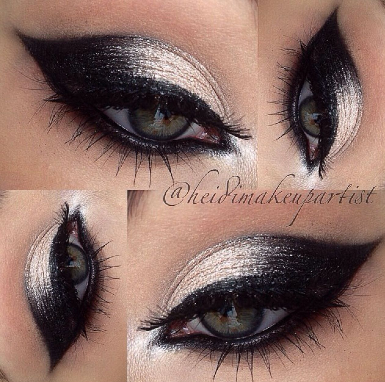 Cool Eye Makeup Unique Shape It S Refreshing To See Something So