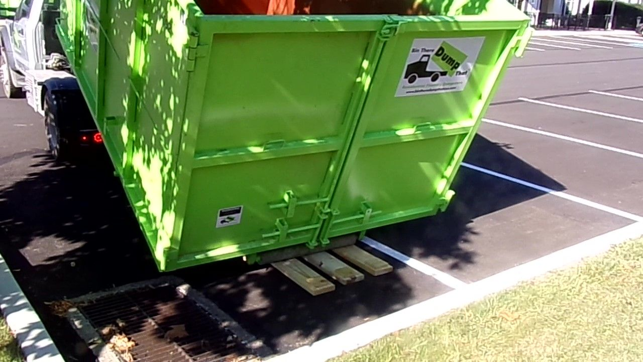 bin there dump that driveway protection system dumpster rent a dumpster xuzhou pinterest