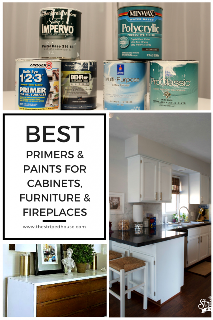 Superieur Best Primers And Paints For Cabinets, Furniture U0026 Fireplaces   The Striped  House(Best Paint Primer)