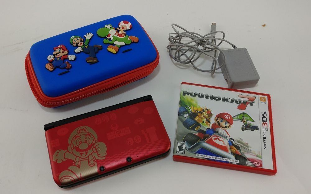 Cool Nintendo 3ds Xl Super Mario Bros 2 Limited Edition Game