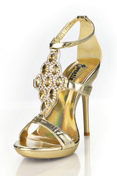 db909e31eac7 Gold Bling Heels in 2019