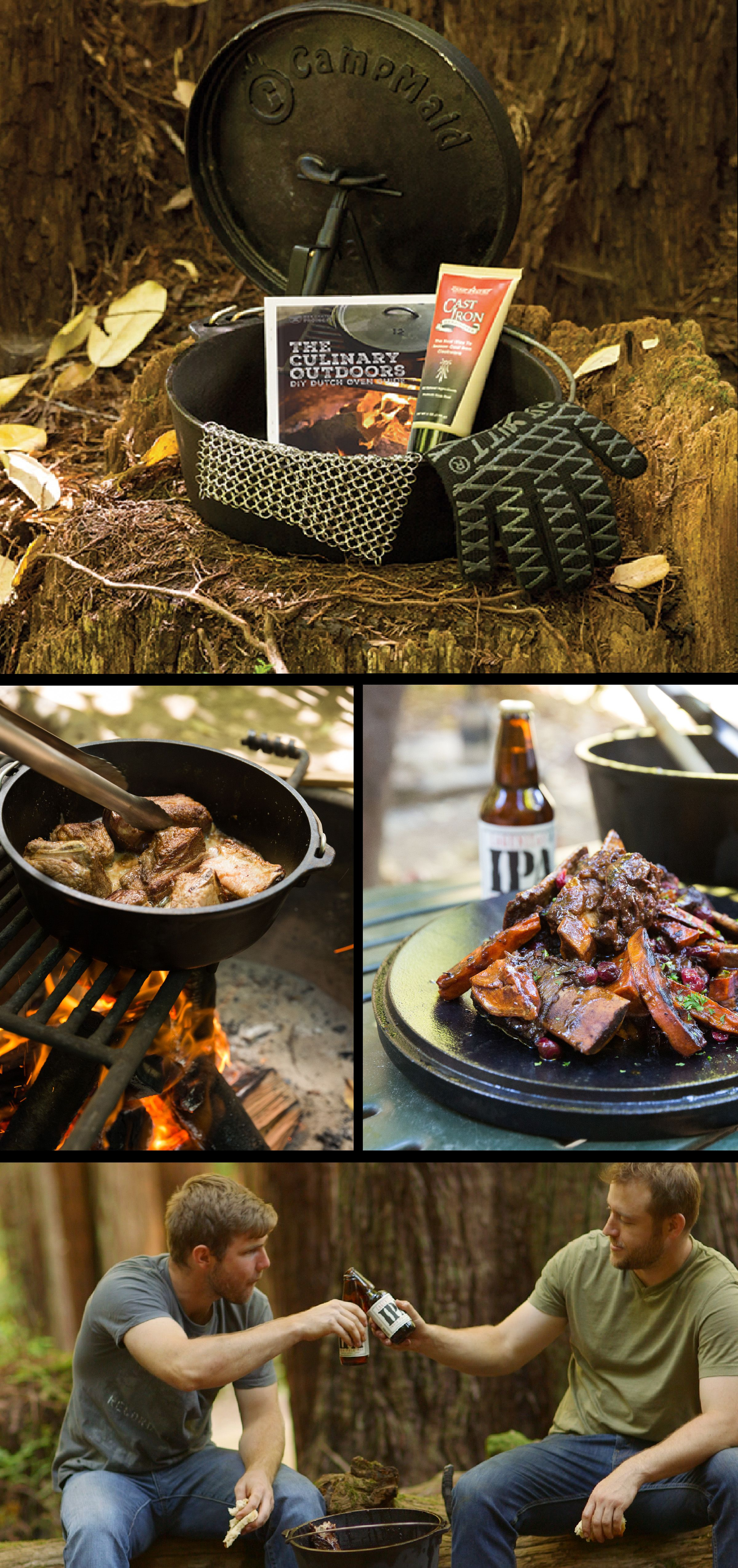 Dutch oven kit grilling gifts gifts for cooks cool