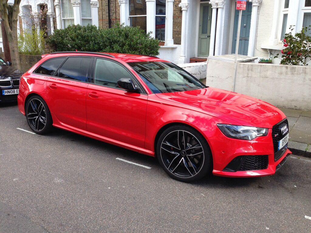 Audi C7 RS6 Avant Misano Red