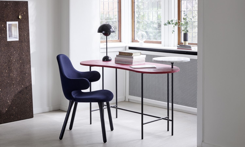Tradition Flowerpot Vp3 Black Blue Traditionn Lighting Interiordesign Scandi Rume Bureau Design Furniture Interior