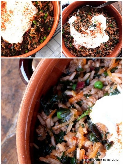 grain de sel - salzkorn: Zum Reinsetzen: Türkischer Mangold-Eintopf