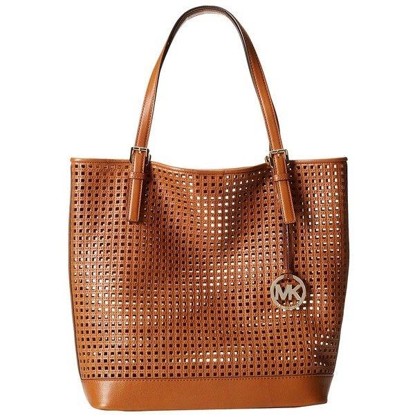 MICHAEL Michael Kors Bridget Large Tote ($279) ❤ liked on Polyvore featuring bags, handbags, tote bags, michael michael kors purse, tote hand bags, tote handbags, michael michael kors tote and michael michael kors
