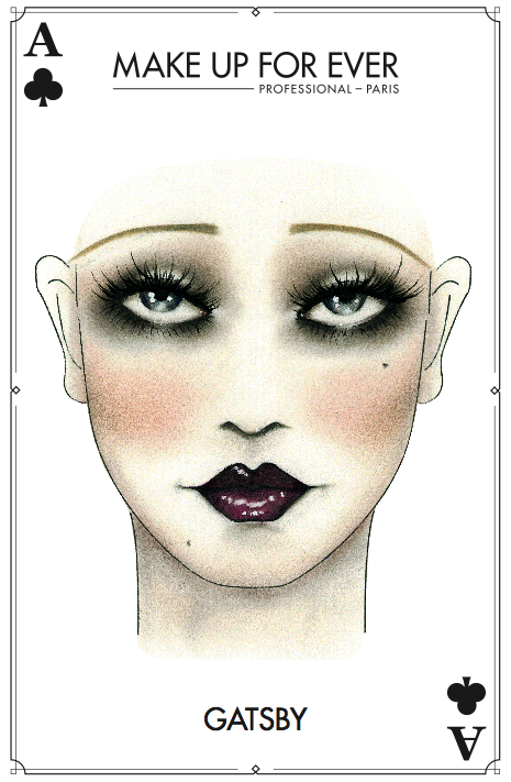 Creepy halloween makeup maisie o 39 mara make up 20er - Schminken 20er ...