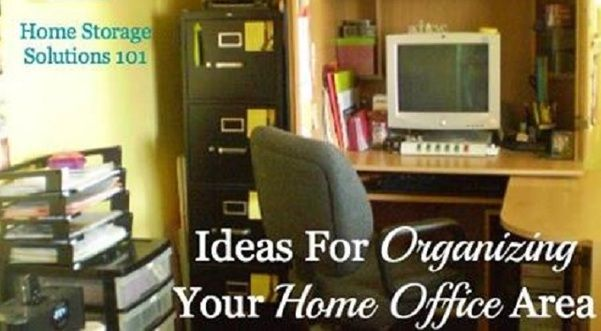 Ideas For Organizing Your Home Office Area For More