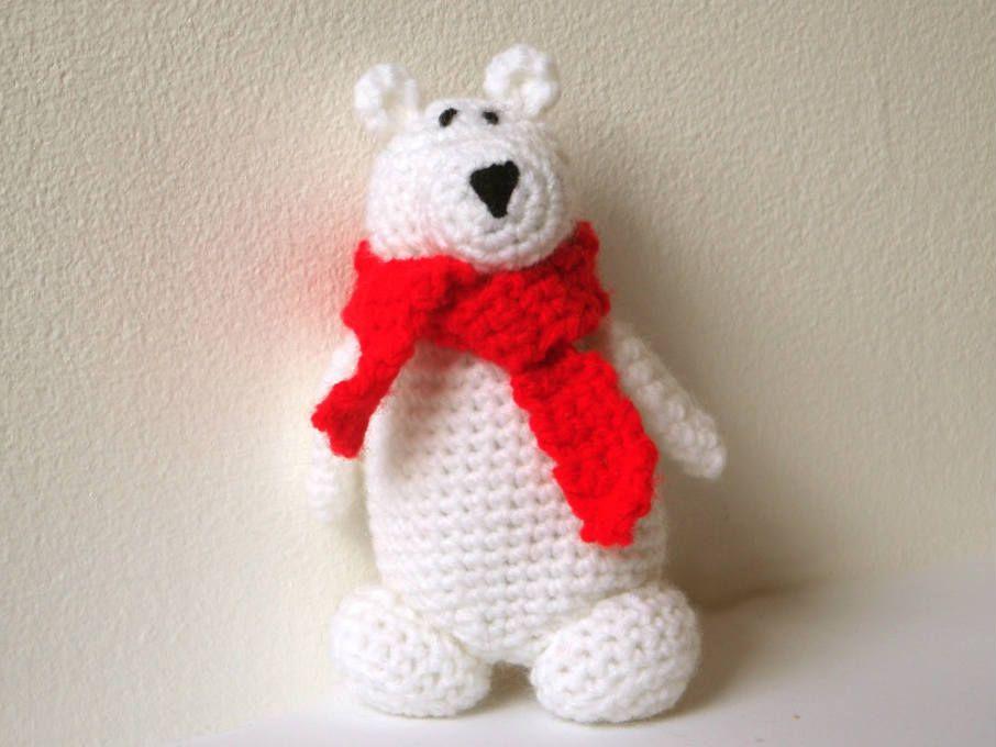 Easy Amigurumi Bear Pattern : Pele polar bear amigurumi pattern $3.40 pattern crochet i like