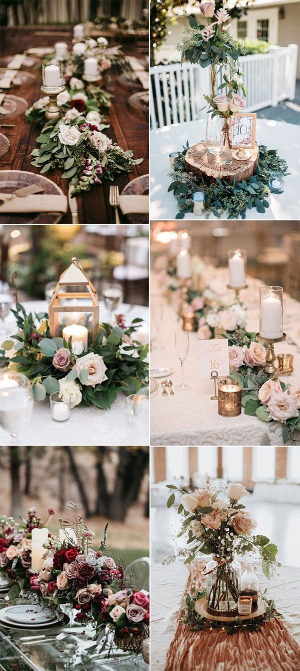 25 Trending Dusty Rose And Sage Wedding Color Ideas Page 2 Of 2 In 2020 Altrosa Hochzeit Tischdekoration Hochzeit Blumen Dekoration Hochzeit