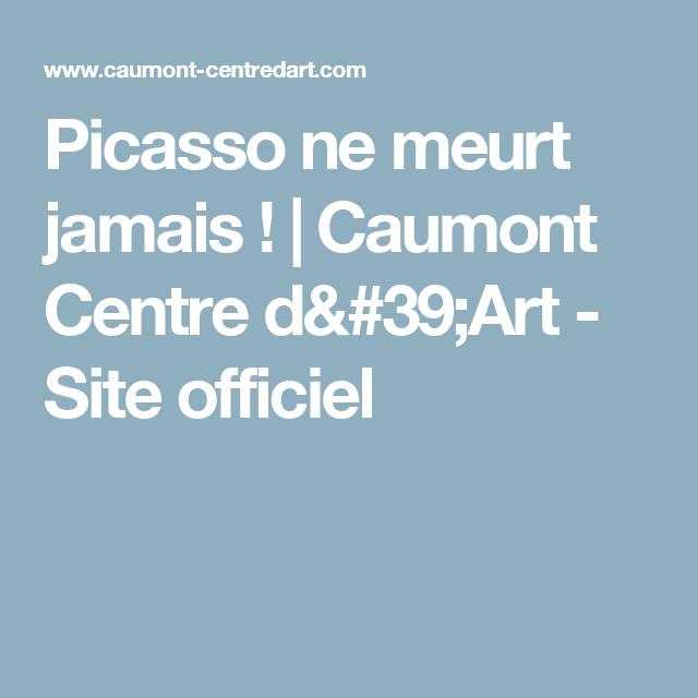 Picasso ne meurt jamais !  | Caumont Centre d'Art - Site officiel