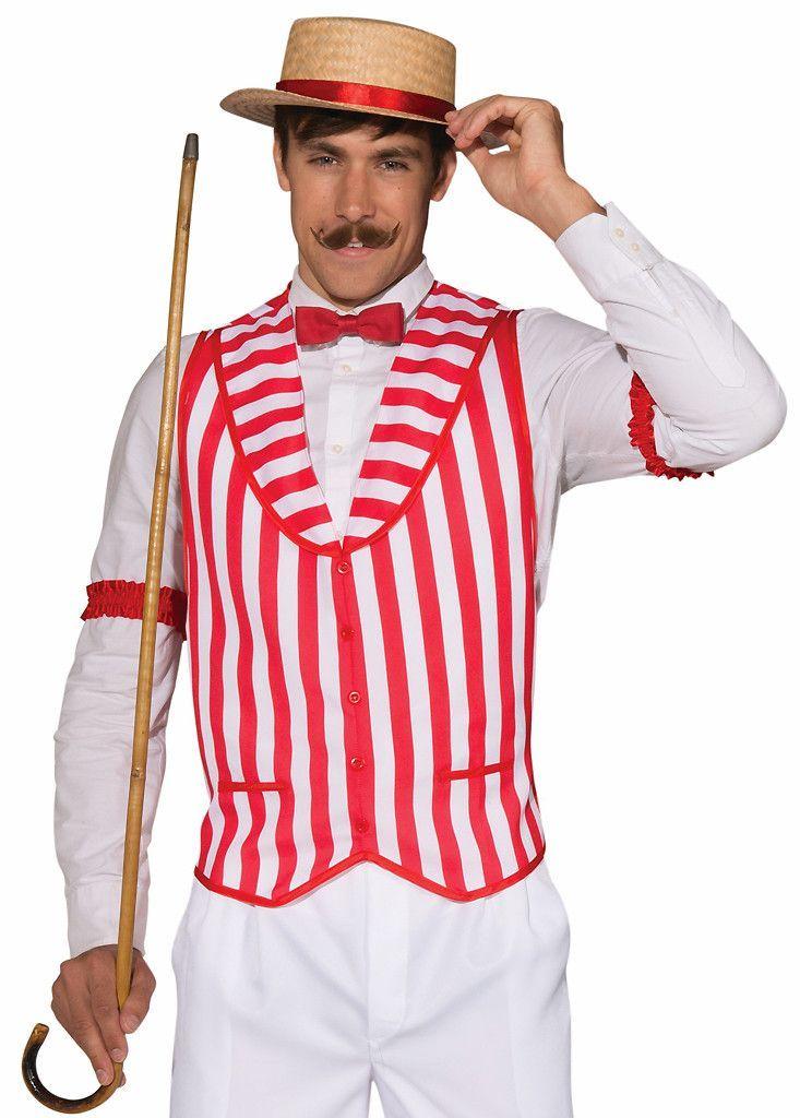 Ladies Mens 1920s Straw Boater Hat Beachwear Fancy Dress Costume Accessory