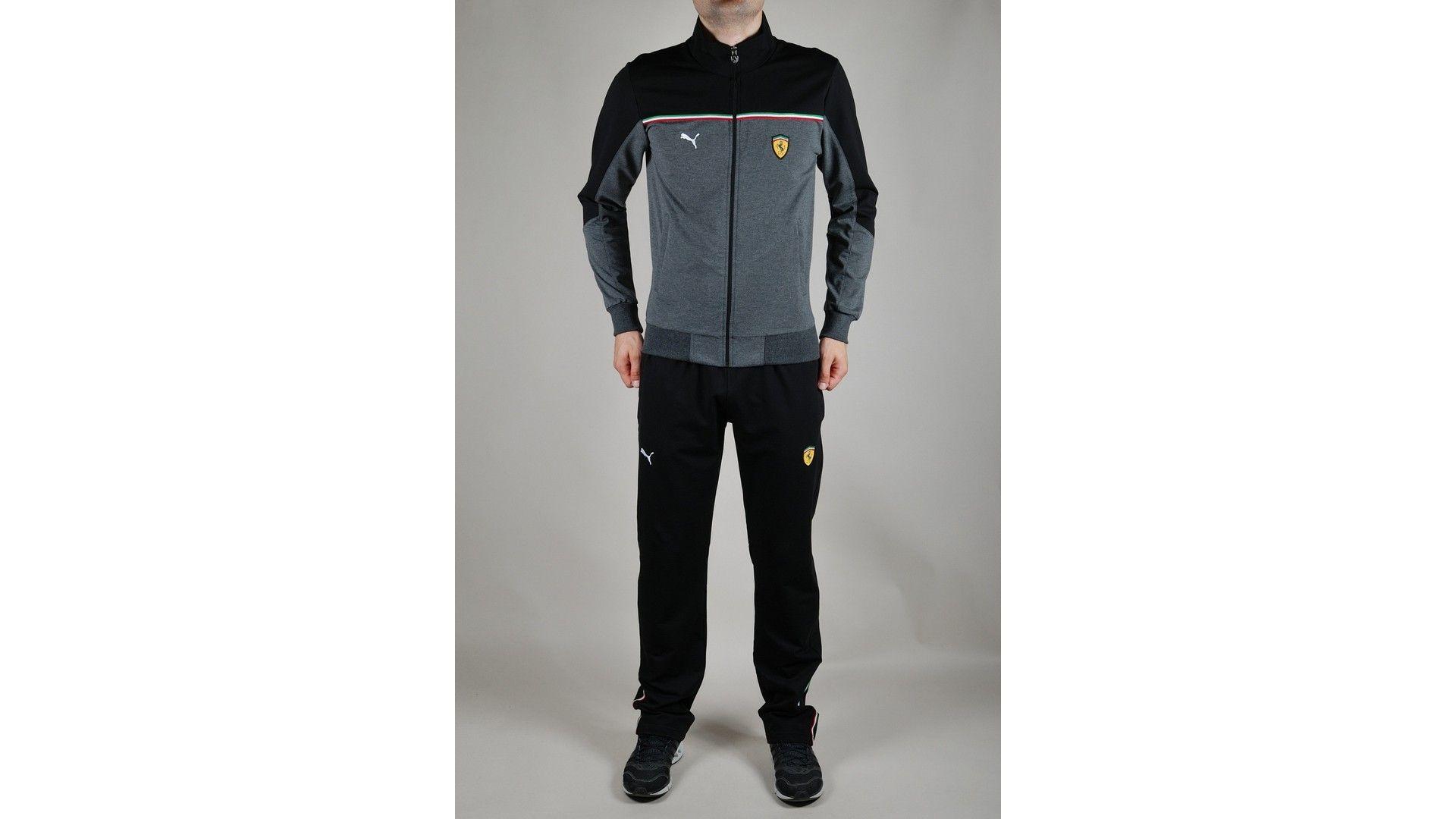 28c03328 Купить оптом Спортивный костюм Puma Ferrari (1223-2) в интернет-магазине,