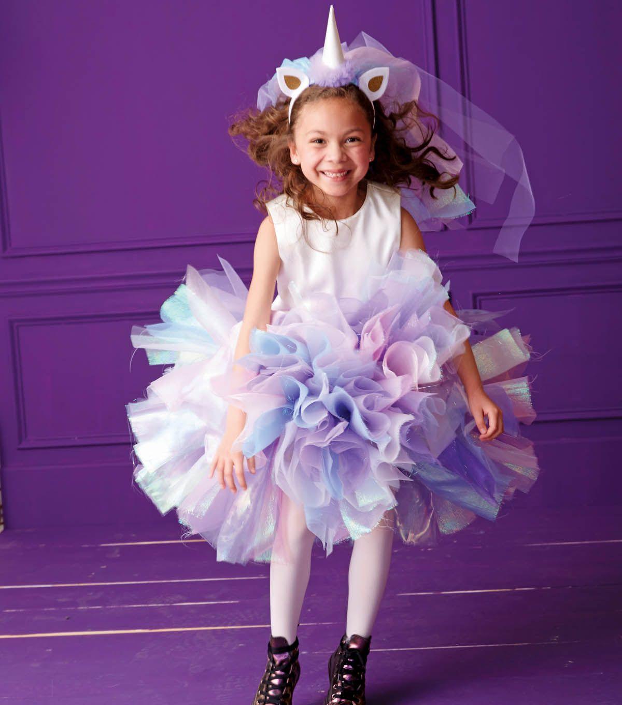 Unicorn Costume and Head Piece | Birthday | Pinterest | Carnavales ...