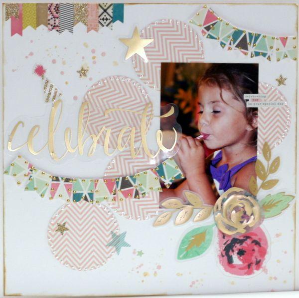 Celebrate ~My Creative Scrapbook DT~ - Scrapbook.com