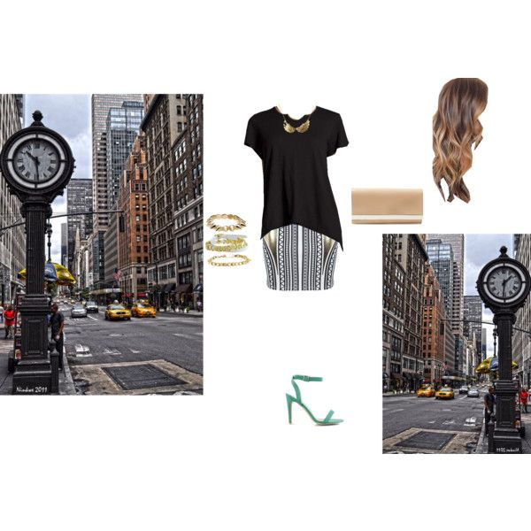 the street scene by kalibrie on Polyvore featuring art